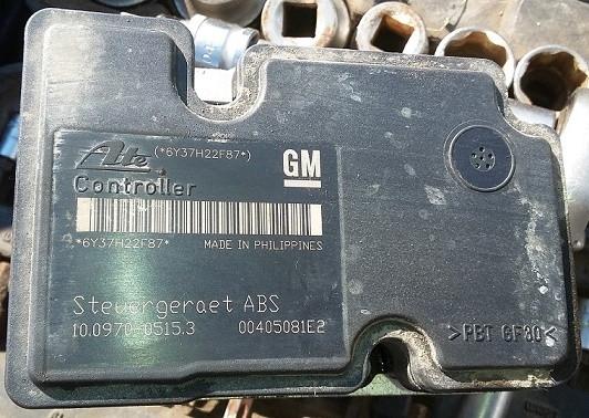 Блок управления abs Opel Astra H / Family