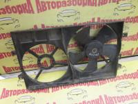 Вентилятор охлаждения радиатора с диффузором Geely Emgrand