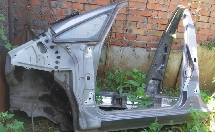Порог кузова левый Mitsubishi Colt (Z3) 2003-2012